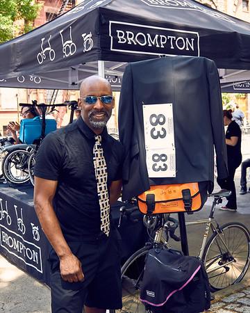 Brompton World Championship--Harlem Skyscraper Cycling Classic (pre race, registration, and podium shots).  6/18/17