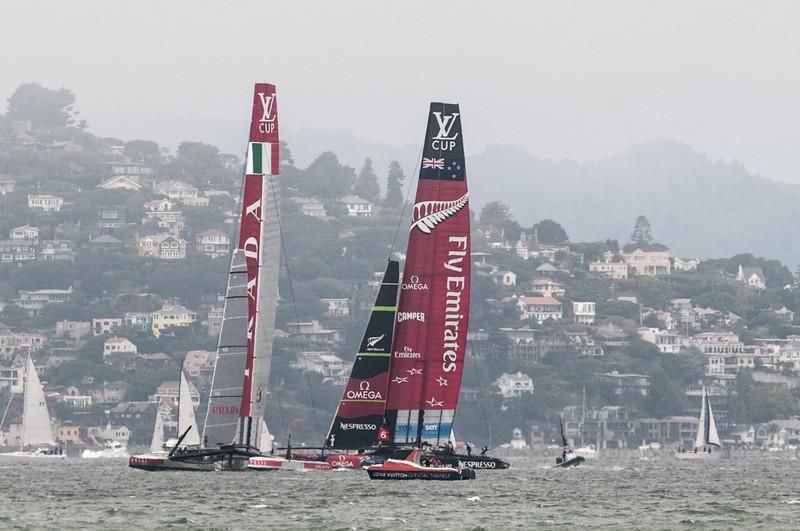 Team Neuseeland gewann den Start.