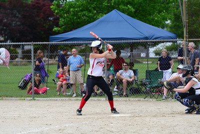 Lauren's softball game June 2013