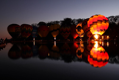 Fireworks and Hot Air Balloons