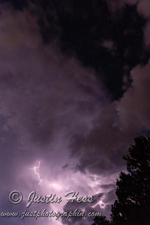 Nighttime Thunderstorm 09-04-2018
