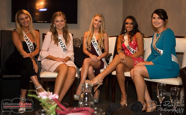 Miss Universe Interview night at Bodega