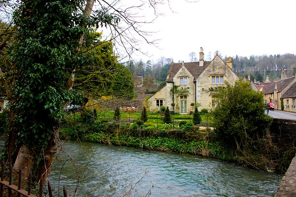 CASTLE COMBES, ENGLAND
