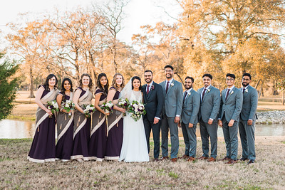 Family & Wedding Party Portraits