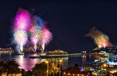 Fireworks & Christmas