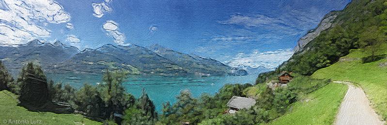 Walensee, bei Quinten