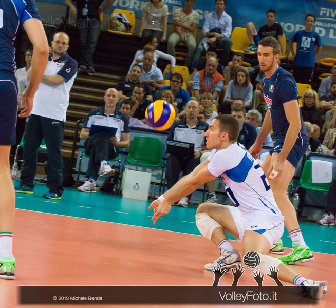 Salvatore Rossini [ITA] ricezione - Italia-Iran, World League 2013 - Modena