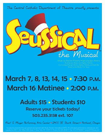 Spring 2014 - Seussical The Musical