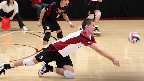 2010-04-29 Men's NCAA Volleyball - MPSF Championship - Semi 2 - Hawaii vs. Stanford