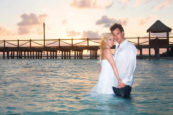 Jaymie and Ales Dreams Cancun Wedding