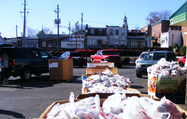 2012,  Scouting for Food- food drive, 18,917 pounds