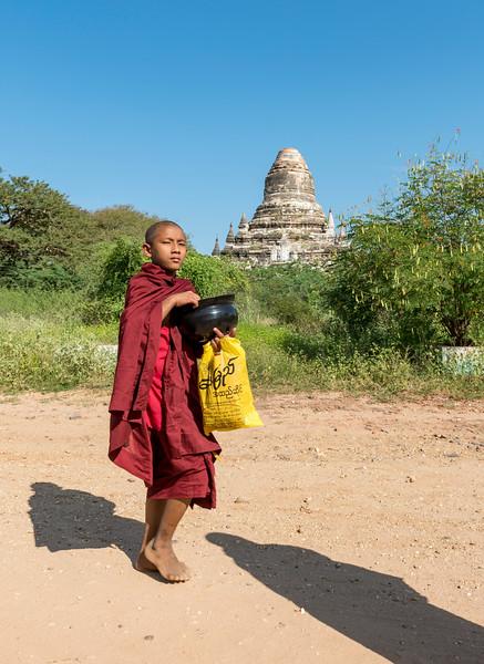 Buddhist Monk, Bagan