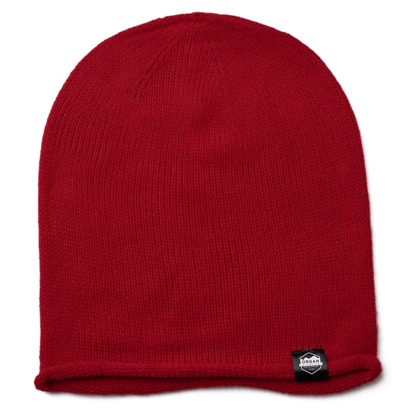 Outdoor Apparel - Organ Mountain Outfitters - Hat - Oversized Knit Beanie - Red.jpg