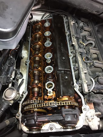 Suspension and Valve cover