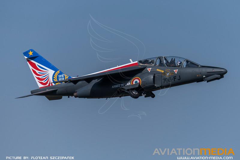 French Air Force ASD / Dassault Breguat Alpha Jet E / 705-FJ / Alpha Jet Solo Display Livery