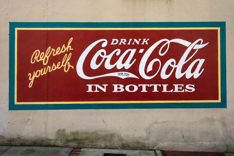 GA, Milledgeville - Coca-Cola Wall Sign 03