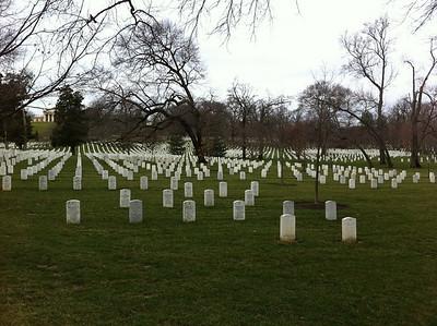 Arlington National Cemetary, Washington, DC, March 2011