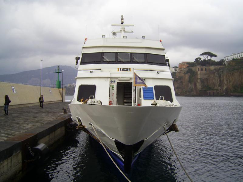 2009 - ISCHIA JET in Sorrento.