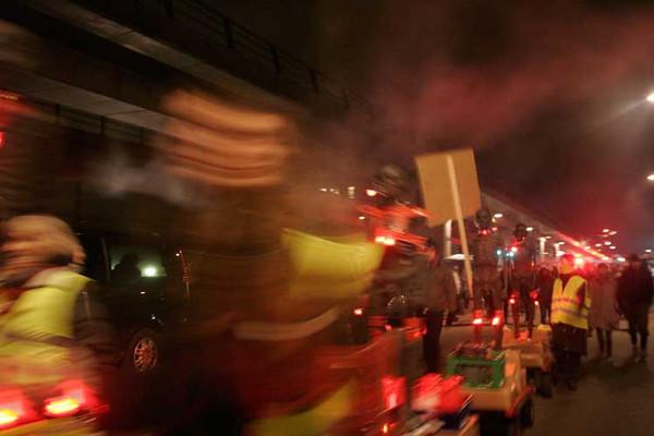 Protesters during COP 15, Copenhagen, 7–18 December 2009