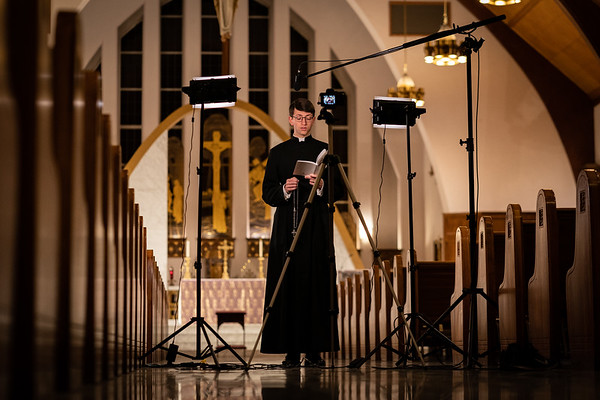 Notre Dame Video Shoot - 3/22/2020
