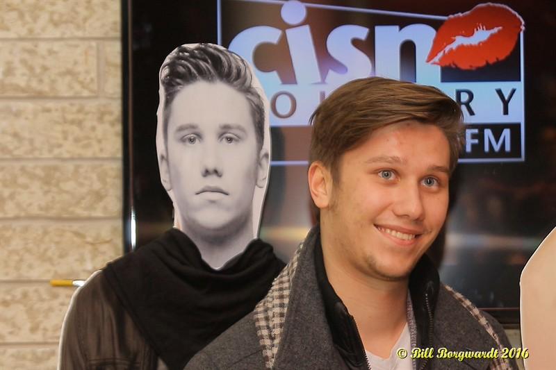 Jesse Mast at 103.9 CISN - Edmonton 148