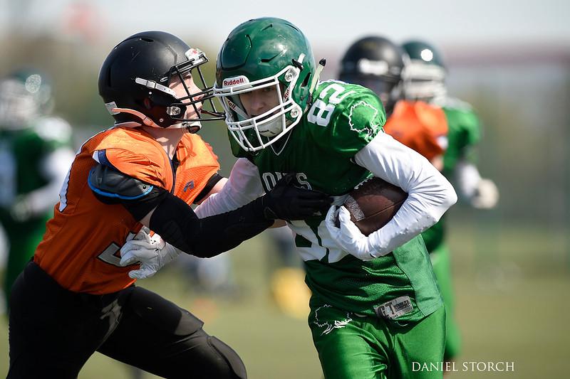 U16: Tomahawks/Monarchs/Spartans vs. Frederikssund Oaks