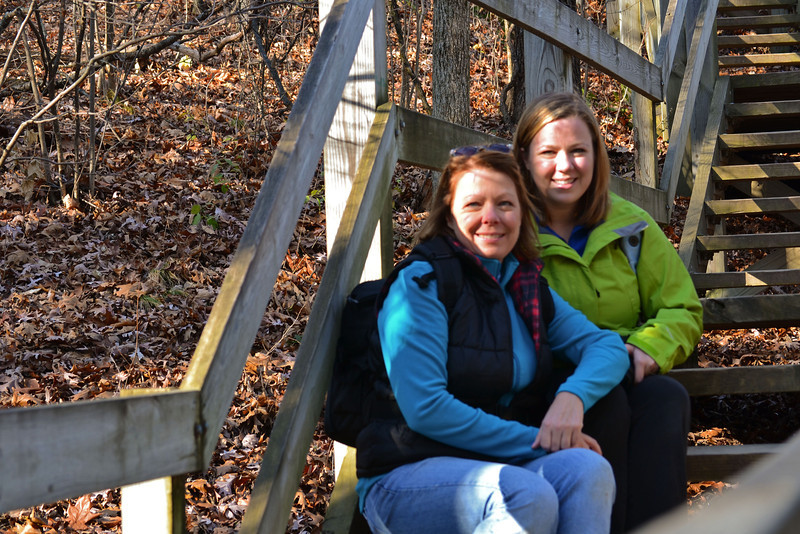 Starved Rock with Erin Nov 2012