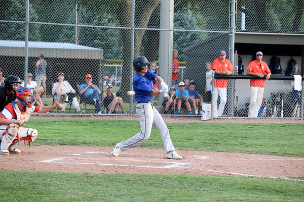 BHRV baseball at Sioux Center 6-28-19