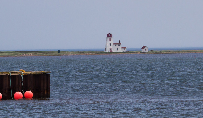 Casumpeque Lighthouse, from Northport