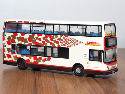 CMNL UKBUS1004 Lothian Buses Dennis Trident Alexander ALX400 503 route 21 to Gyle Centre