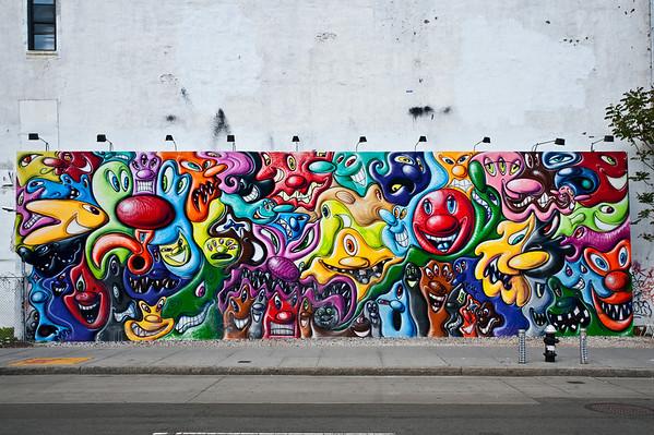 Houston Bowery Wall
