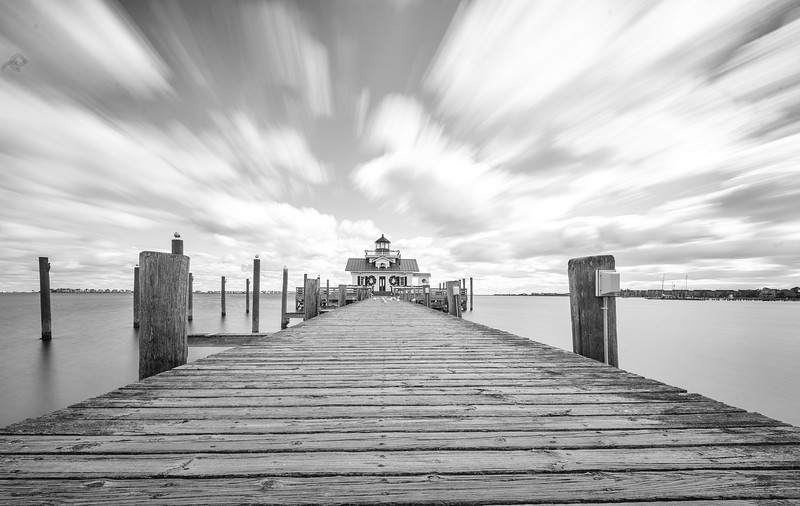 Manteo lighthouse long exposureb&w.jpg