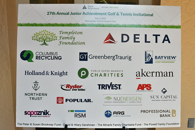 27th Annual Junior Achievement Golf & Tennis Invitational 2019