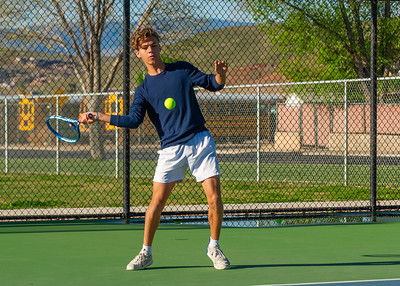 2019-04-13 Dixie HS Tennis - Kolby Rogers