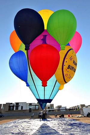 April 2021: Sheryl's New Balloon of Balloons!!