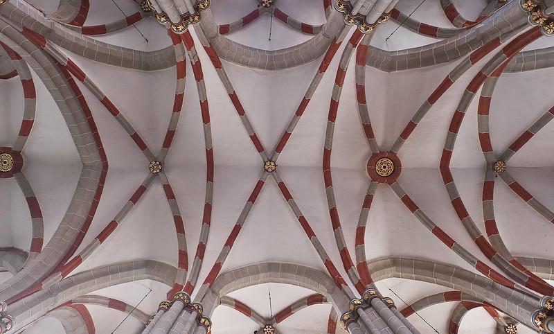 Mühlhausen, Blasiuskirche, Gewölbe