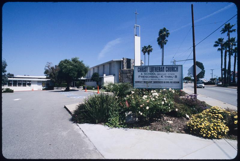 Churches along South Western Avenue, Gardena to San Pedro, 2005