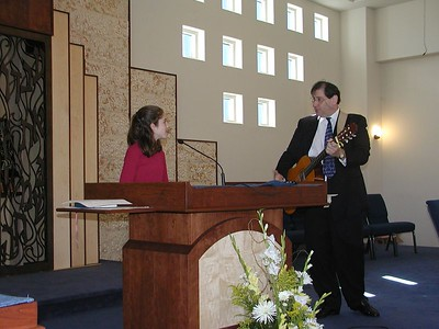 2003 Hannah's Bat Mitzvah, March