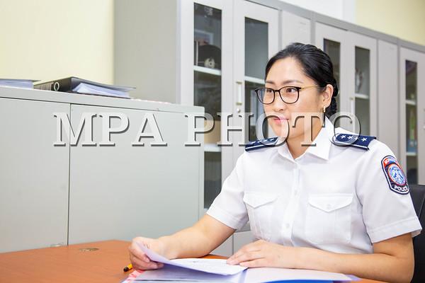 ЦЕГ-ын нийтийн хэв журам хамгаалах, олон нийтийн аюулгүй байдлыг хангах албаны урьдчилан сэргийлэх ажил хариуцсан мэргэжилтэн, цагдаагийн