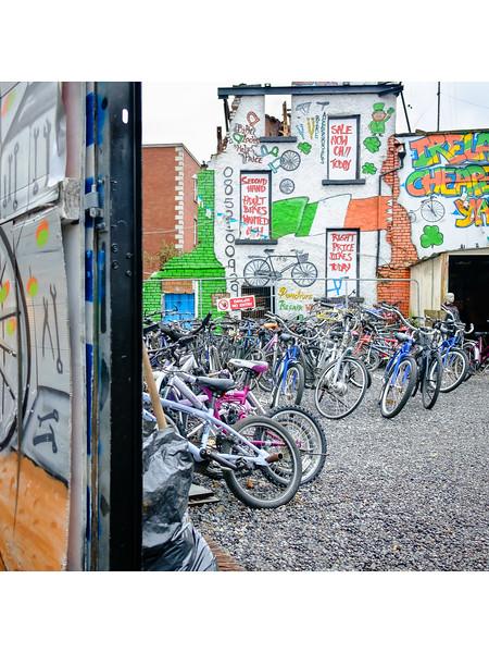 Bicycle Shop by Sam Keegan