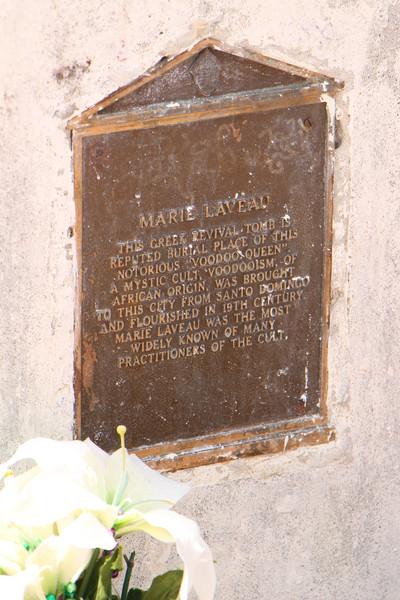 Gravesite for Marie Laveau, St. Louis Cemetery No. 1