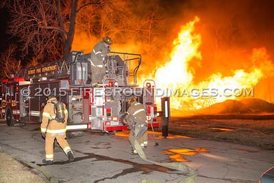 Mt. Elliot and Brockton Dwelling Fire (Detroit, MI) 3/29/15