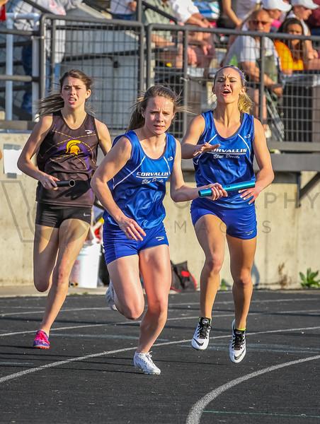 '15 Top Ten Meet - 4x400m-girls