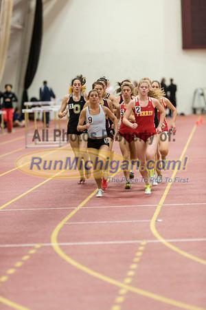 Women's Mile - 2013 CMU Open Indoor Track Meet