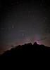 """Meteor Mountain"" I, Persieds Over Castle Mountain, Banff National Park, Alberta, Canada."