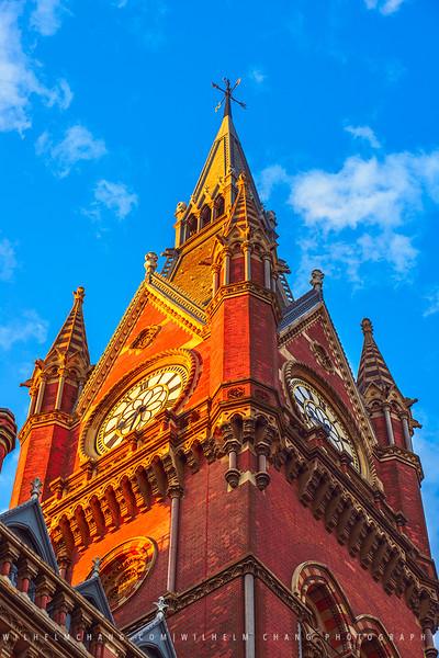 Saint Pancras Station, London