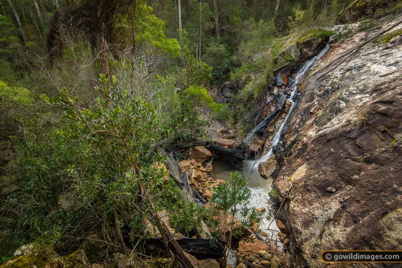 Beehive Falls and Creek