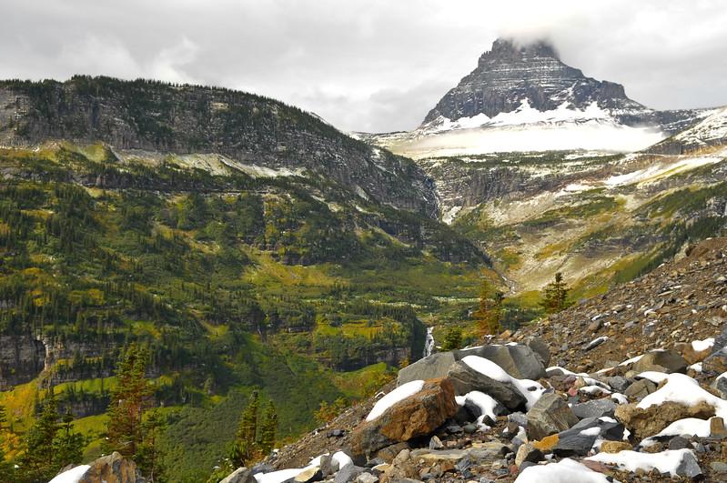Glacier National Park near Logan Pass.
