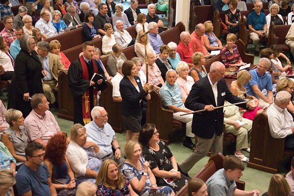 August 4th - David's First Sunday Sermon