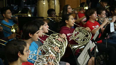 8th grade concert band night - 10.26.2018